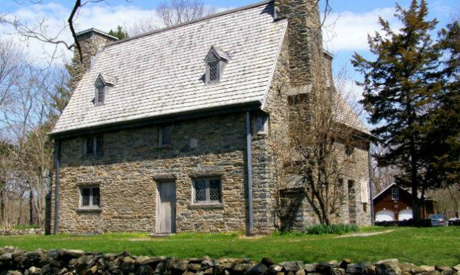 Oldest Homes America Old Stone Houses