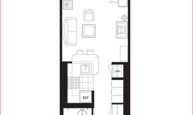 One Bedroom Apartment Plans