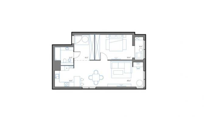 One Bedroom Apartments Under Square Feet