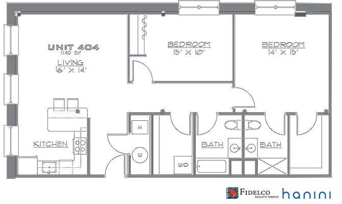 One Bedroom Floor Plans Loft Joy Studio Design