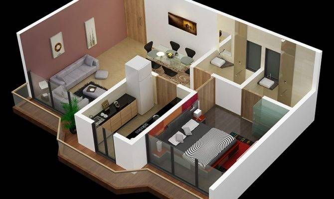 23 Small One Bedroom House Ideas That Dominating Right Now Home Plans Blueprints,Green Color Light Green Kurti Combination