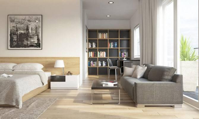 One Bedroom House Interior Design