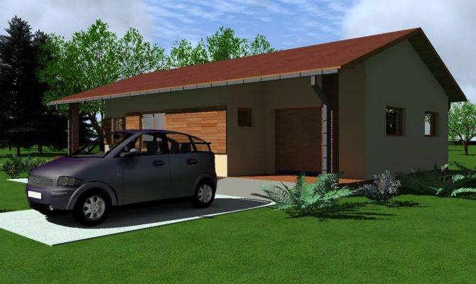 One Bedroom House Plan Garage Youtube