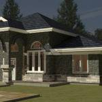 One Bedroom House Plans Additionally Bungalow
