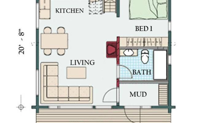 One Bedroom Log Cabin Plans Loft Joy Studio Design