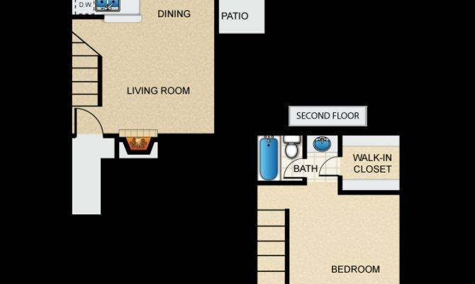One Bedroom Townhome Savae