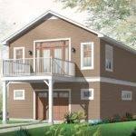 One Car Garage Apartment Plan House Plans Pinterest