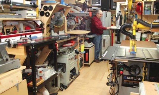 One Car Garage Dream Shop Canadian Woodworking Magazine