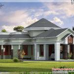 One Floor Home Elevation Kerala Design
