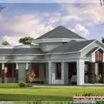 One Floor Home Elevation Kerala Design