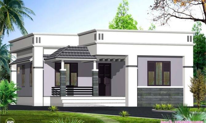 One Floor House Design Feet Home Kerala Plans