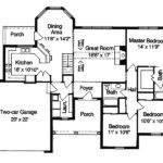 One Level House Floor Plans