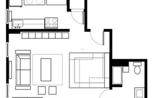 One Room Apartment Floor Plan Smart Studio Layouts