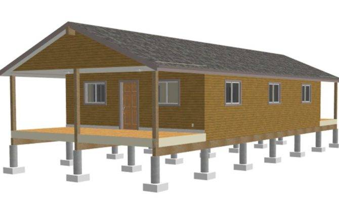 One Room Cabin Plans Garage Shed Shipping