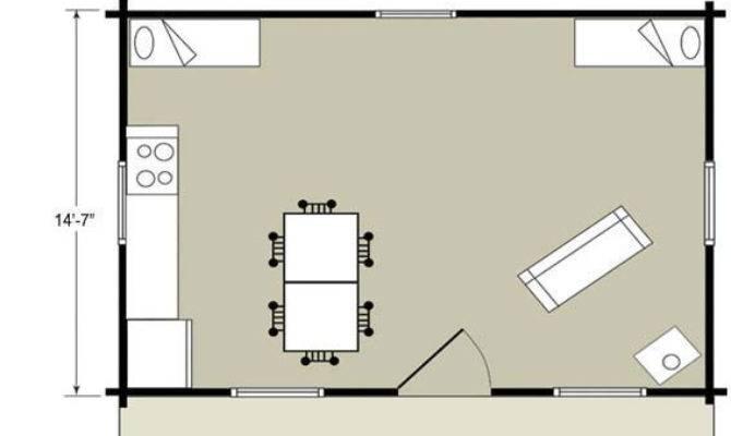 One Room Cabins Loft Joy Studio Design