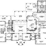 One Story Bedroom Bath Mediterranean Style House Plan Cool Design