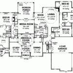 One Story Bedroom House Plans Eplans New American Plan