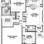 One Story Bedroom Modern House Plans Single Ideas