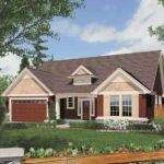 One Story Craftsman Plan