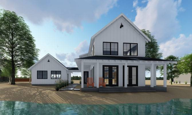 One Story Farmhouse Design Country House Plans