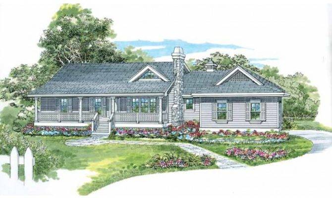 One Story Farmhouse House Plans Eplans Epl