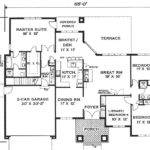 One Story Home Bedrooms Baths House Designers