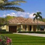 One Story Home Plan Design Has