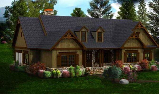 One Story House Plans Basement Porch Dream Housees