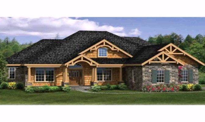 One Story House Plans Wrap Around Porch Basement