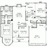 One Story Three Bedroom House Plans