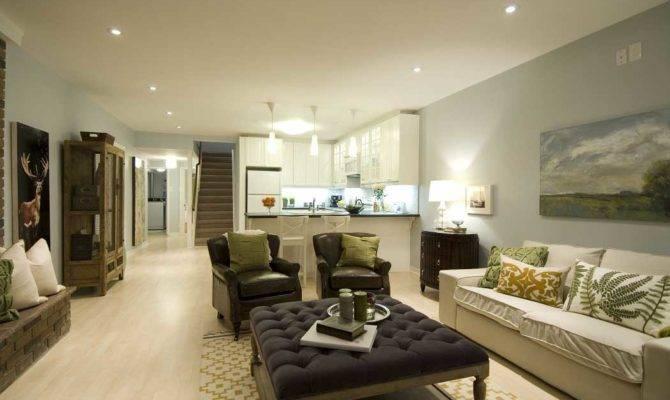 Open Concept Kitchen Living Room Floor Plan Design