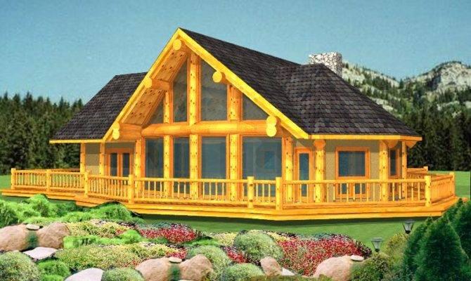 Open Concept Post Beam House Plans