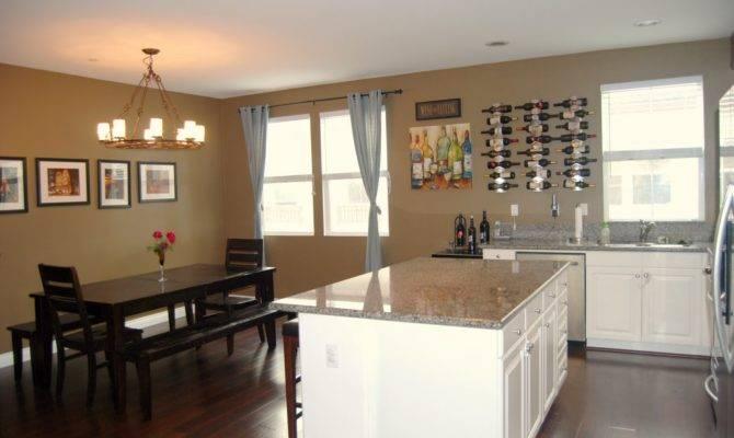 Open Floor Plan Floors Dining Room Kitchen Living