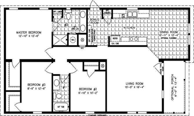Open Floor Plan House Plans Cabin