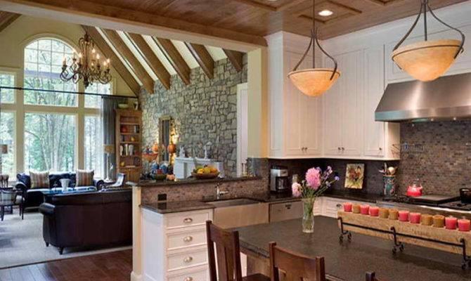 Open Floor Plan Kitchen Living Room Link