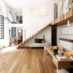 Open Floor Plans Loft Stairs House Designs