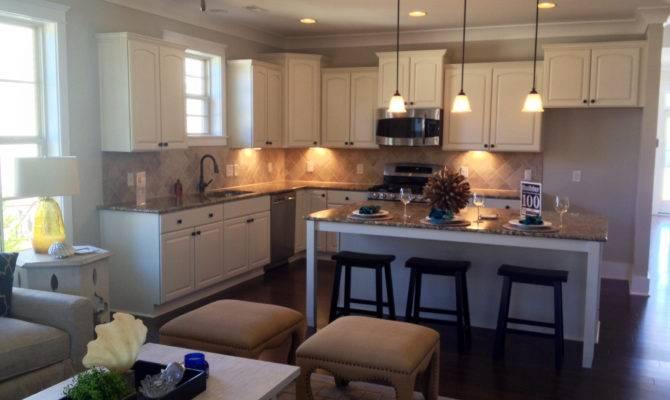 Open Kitchen Large Island Casa Pinterest