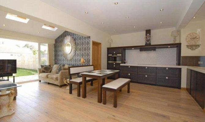 Open Kitchen Living Room Design Ideas Regard