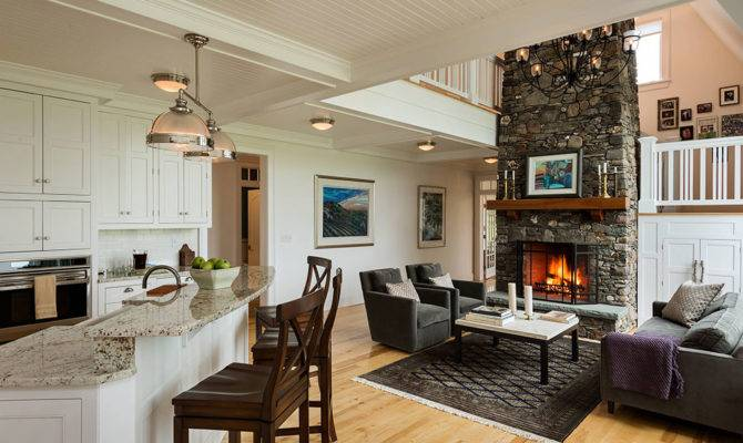 Open Kitchen Living Room Design Ideas Home Plans Blueprints 111142