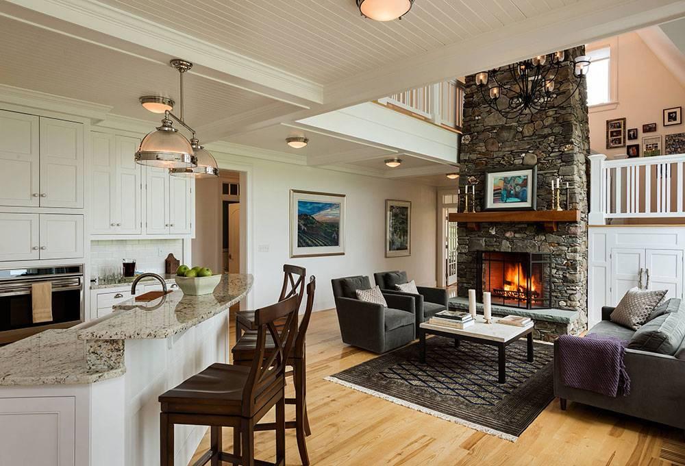 Open Kitchen Living Room Design Ideas Home Plans Blueprints 124621