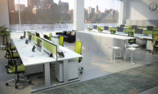 Open Office Concept Design Plan