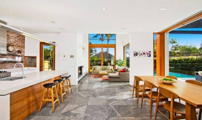 Open Plan Kitchen Dining Living Dream Interior Designsdream