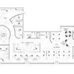 Open Plan Office Floor Plans Home Deco