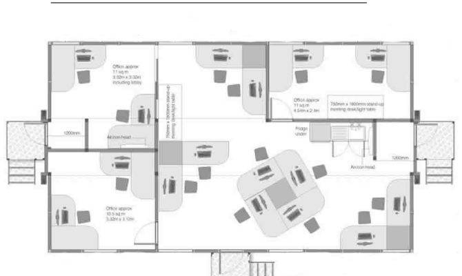 Open Plan Office Floor Plans Home Deco