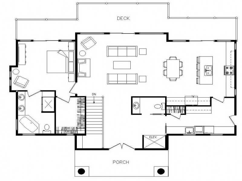 Open Ranch Style Home Floor Plan Memes Home Plans Blueprints