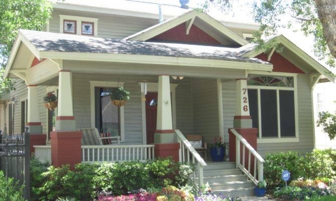 Other Houston Bungalow Porch Garden