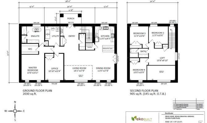 Ottawa Passive House Plans Ekobuilt
