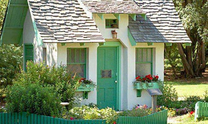 Our Favorite Shed Makeovers Backyards Across World