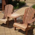 Our Jack Jill Adirondack Chairs Made Mahogany