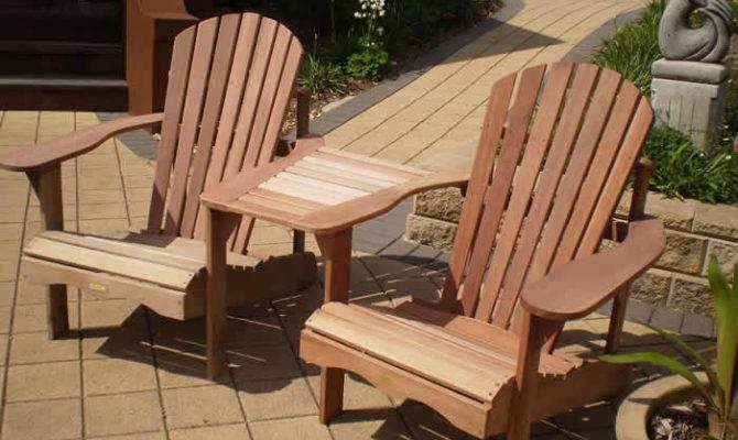 Our Jack Jill Adirondack Chairs Made Mahogany
